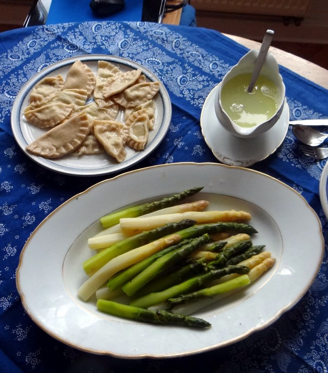 Spargel,Ravioli mit Wildkräuterfüllung (15)