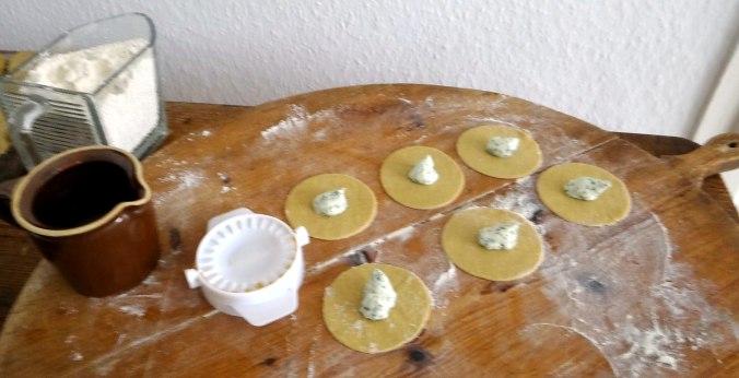 Spargel,Ravioli mit Wildkräuterfüllung (9)