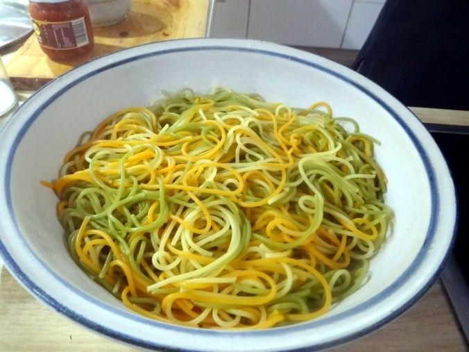 Zucchini Zoodles,Spaghetti,Tomatensauce (13)
