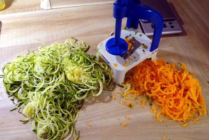Zucchini Zoodles,Spaghetti,Tomatensauce (6)