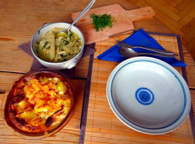 Kohlrabigemüse,Kartoffelgratin,vegetarisch (3)