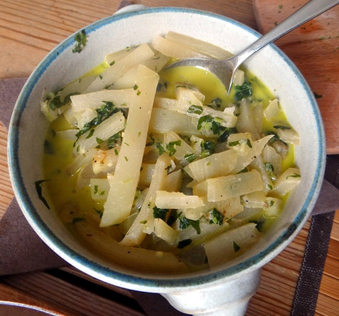 Kohlrabigemüse,Kartoffelgratin,vegetarisch (9)