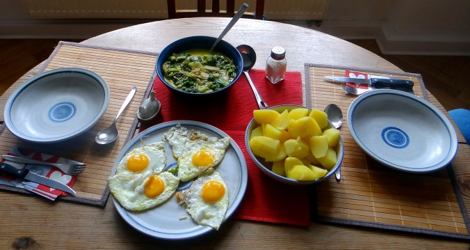 Mangold,Salzkartoffeln,Spiegelei,vegetarisch (20)