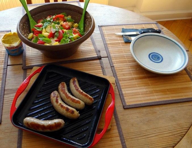 Mediterraner Kartoffelsalat,Bratwurst (17)