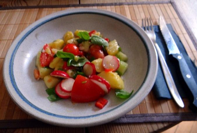 Mediterraner Kartoffelsalat,Bratwurst (22)