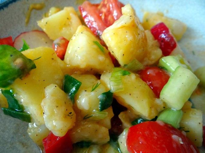 Mediterraner Kartoffelsalat,Bratwurst (24)