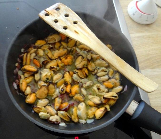 Muschel-Linsensalat,Gurkensalat,pescetarisch (10)