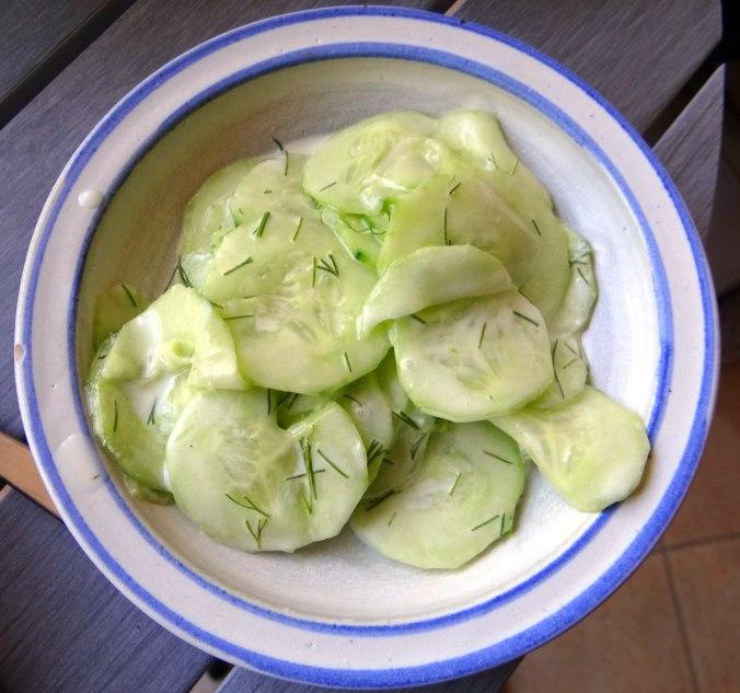 Muschel-Linsensalat,Gurkensalat,pescetarisch (18)