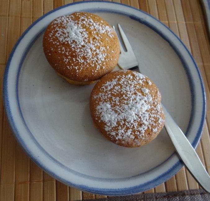 Rohgebratene Kartoffeln,Guacamole,Kohlrabisalat,Zitronenmuffins, , (23)