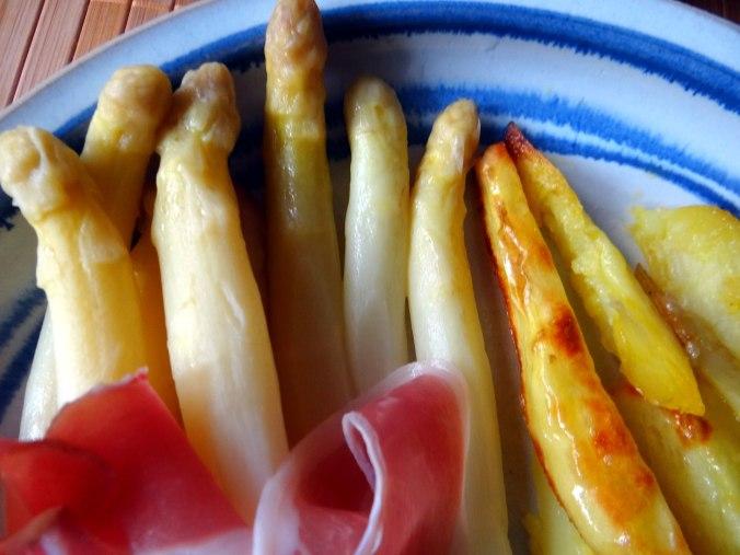 Spargel ,Pommes,Schinken (4)