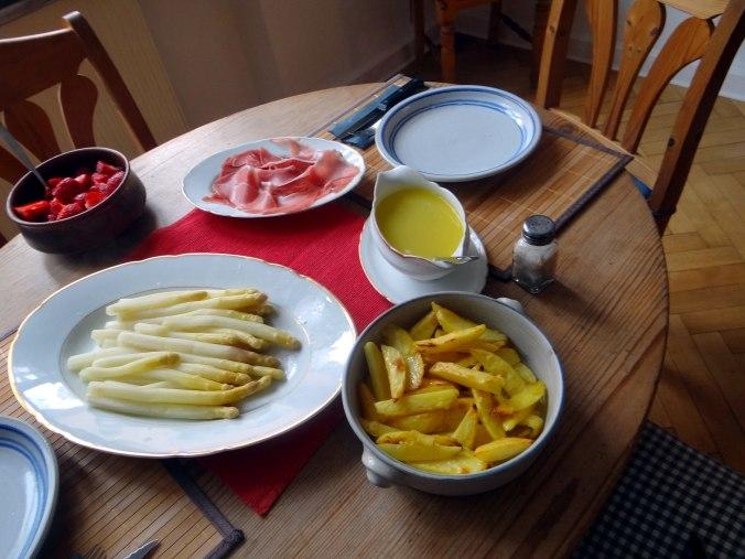 Spargel ,Pommes,Schinken (6)