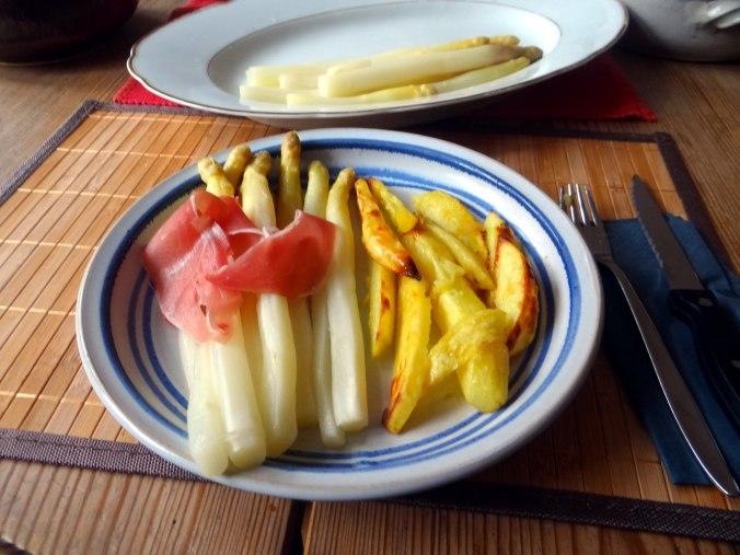 Spargel ,Pommes,Schinken (9)