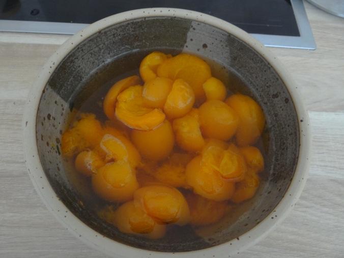 Spitzpaprika mit Wein,Bulgur,Aprikosenkompott,vegetarisch (19)