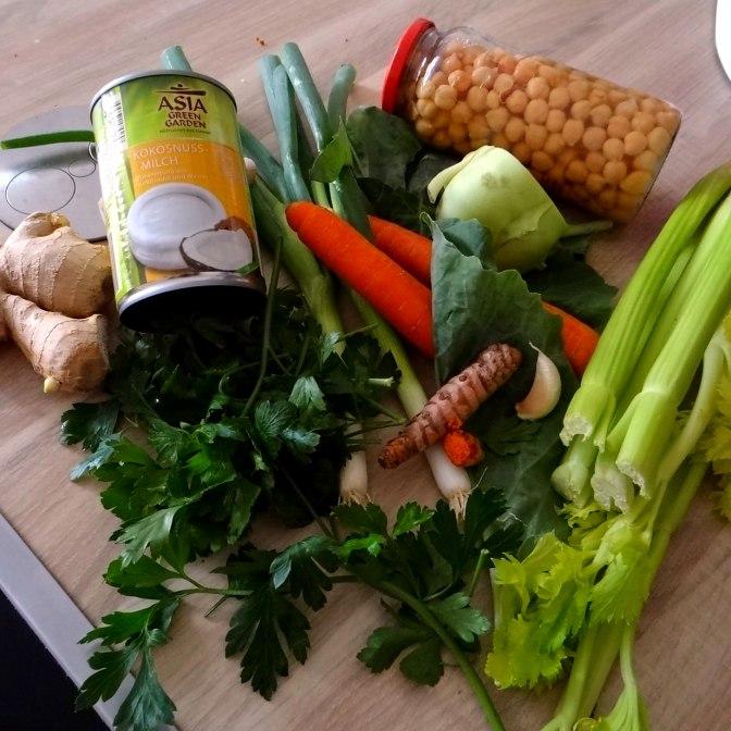 Asiatische Gemüsesuppe,vegan (1)