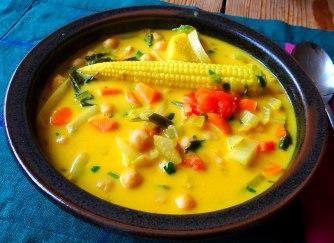 Asiatische Gemüsesuppe,vegan (10)