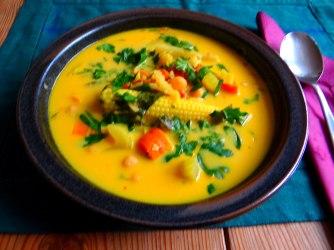 Asiatische Gemüsesuppe,vegan (12)
