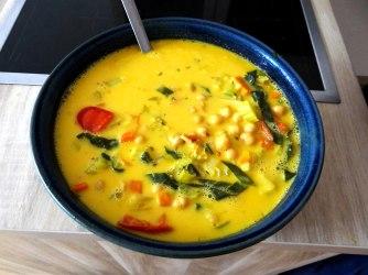 Asiatische Gemüsesuppe,vegan (7)