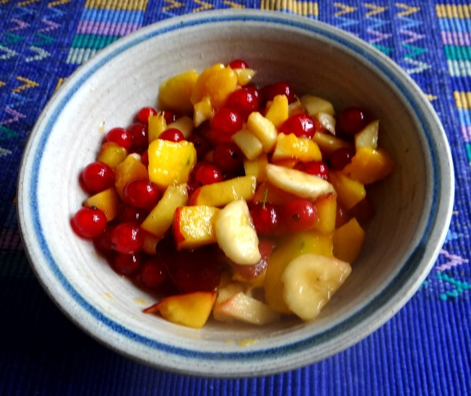 Bohnengemüse,Pellkartoffeln,Obstsalat (4)