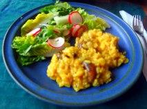 Champignon Risotto,Salat,vegetarisch (22)