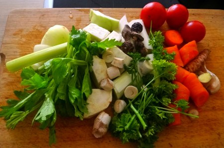 Champignon Risotto,Salat,vegetarisch (4)