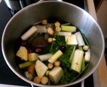 Champignon Risotto,Salat,vegetarisch (6)
