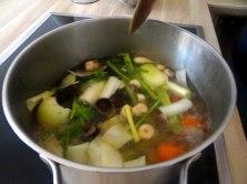 Champignon Risotto,Salat,vegetarisch (7)