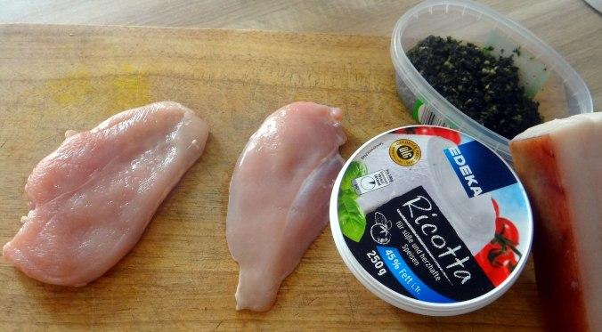Gefüllte Hähnchenbrust,Erbsen,neue Kartoffeln (4)