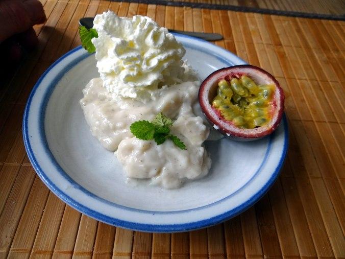 Gemüse in Kokosmilch,Vanillepudding,Sahne (4)