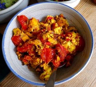 Kartoffeln,Rührei,Salate (11)