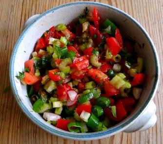 Kartoffeln,Rührei,Salate (6)