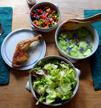 Kartoffeln,Rührei,Salate (9)