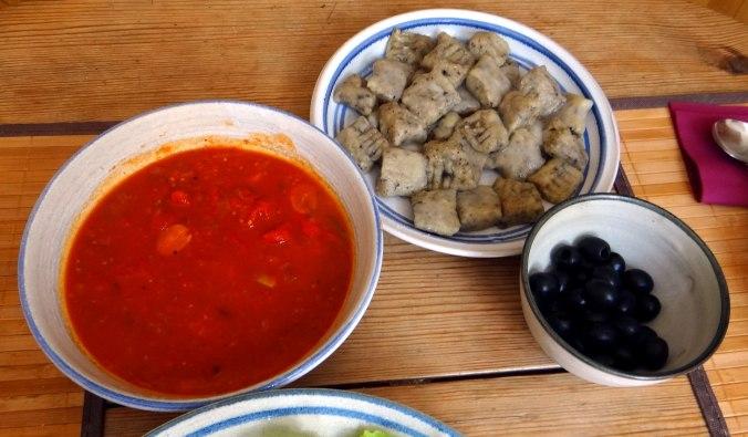 Oliven Gnocchis,Salat (14)