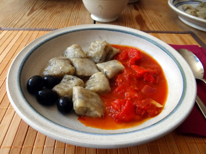 Oliven Gnocchis,Salat (15)
