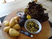 Rösti,Guacamole,Tapenade,Salat,vegetarisch (6)