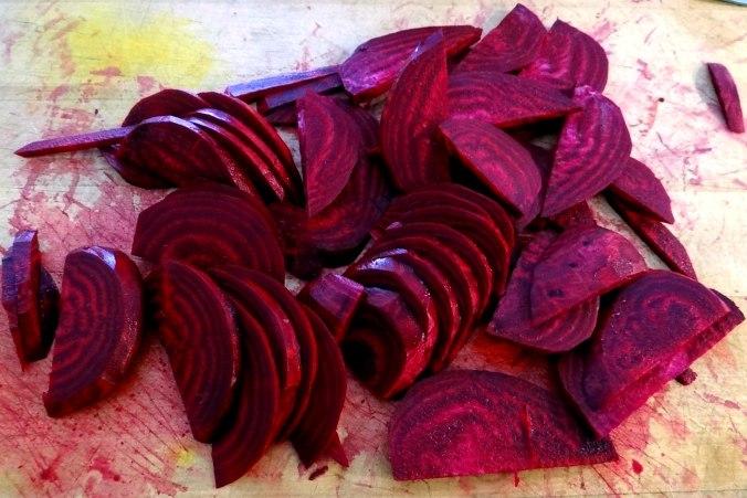 Rote Beete Gemüse,Garnelen,Pellkartoffeln (8)