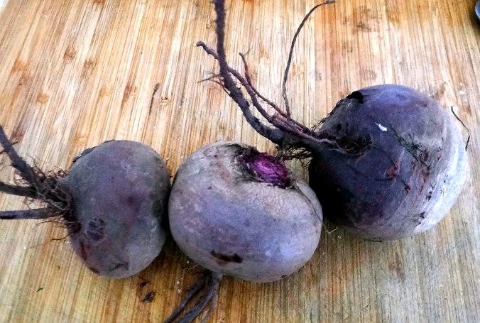 Rote Beete Gemüse,Kümmelkartoffeln,Salat,Quarkspeise,vegetarisch (7)