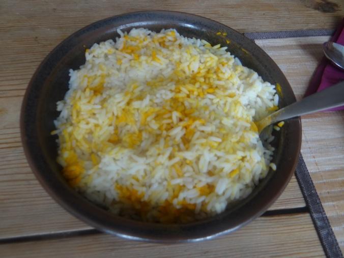 Schmorgurken,Reis,Eierpfannkuchen (13)