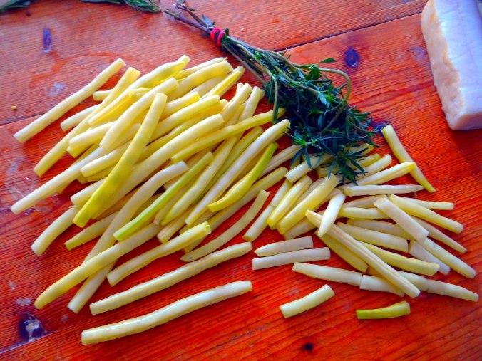 Wachteln,Kartoffel-Sellerie Stamp,Bohnensalat,Champignon (13)