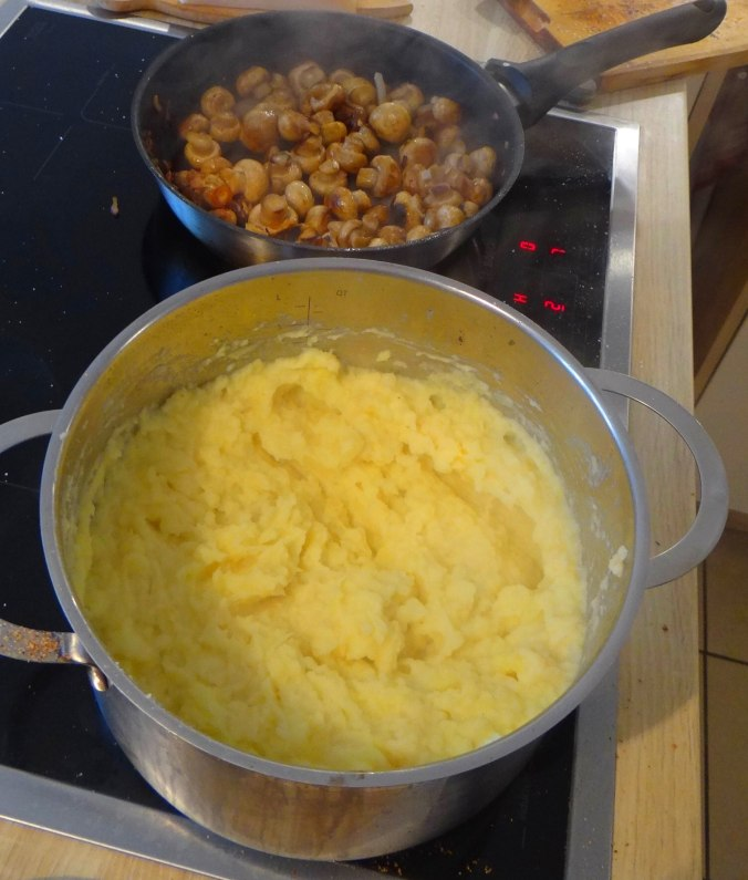 Wachteln,Kartoffel-Sellerie Stamp,Bohnensalat,Champignon (19)