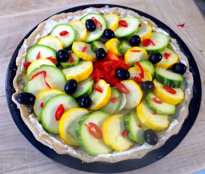 Zucchini Quiche,Quarkspeise, (11)