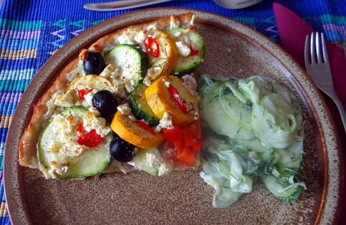 Zucchini Quiche,Quarkspeise, (18)