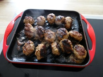 Cevapcici,Tzatziki,Ofenkartoffeln,Tomatensalat,Smoothie (12)