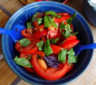 Cevapcici,Tzatziki,Ofenkartoffeln,Tomatensalat,Smoothie (14)
