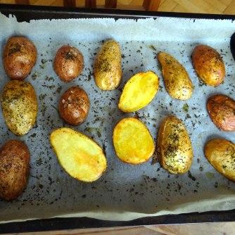 Cevapcici,Tzatziki,Ofenkartoffeln,Tomatensalat,Smoothie (15)