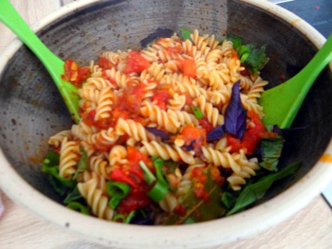 Emmer-Spirelli,Tomatensauce,Flußkrebse,Basilikum (11)