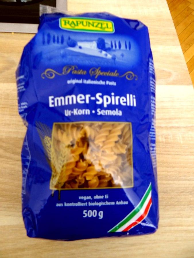 Emmer-Spirelli,Tomatensauce,Flußkrebse,Basilikum (5)
