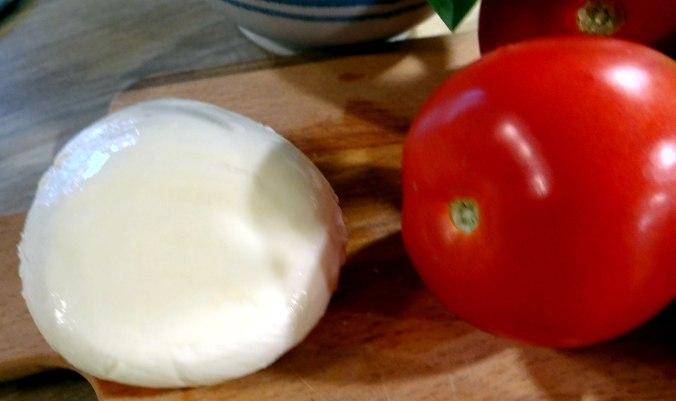 Herrzhafte Muffin,Rote Beete Salat,Geschmorte Radieschen,Tomaten mit Mozarella,Römersalat (16)