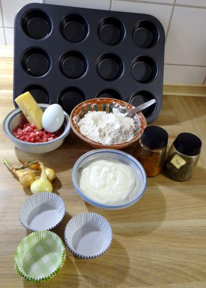 Herrzhafte Muffin,Rote Beete Salat,Geschmorte Radieschen,Tomaten mit Mozarella,Römersalat (9)