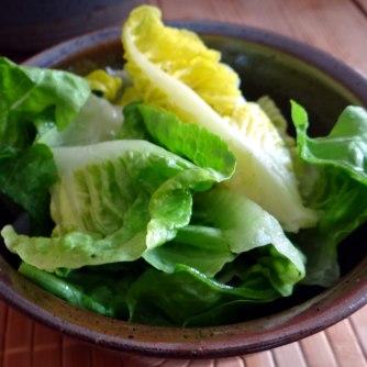 Hirsotto mit Champignon,Salat,Joghurt Eis,vegetarisch (21)