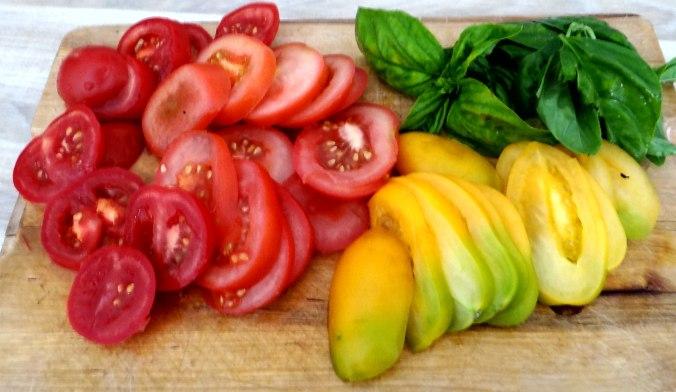 Kartoffeln,Hokkaidospalten,Auberginen,Tomatensalat (7)